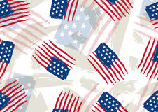 Usa background , vector illustration Stock Photography