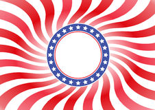 Usa badge Royalty Free Stock Photos