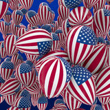 USA balloons Stock Photo