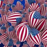 USA balloons Stock Photo
