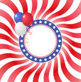 Usa balloons Royalty Free Stock Photos