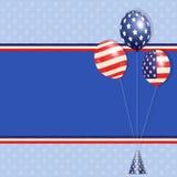 USA balloons Royalty Free Stock Photos