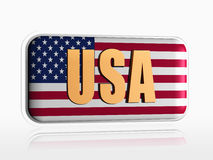 USA banner Stock Image