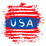 USA banner Stock Photo