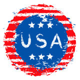 USA banner Royalty Free Stock Images