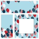 Usa banners Royalty Free Stock Photography