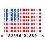 USA bar code Stock Photo