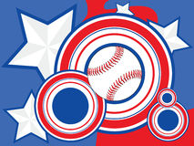 USA Baseball background Royalty Free Stock Photo