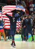 USA-Basketball-Team stockfotos