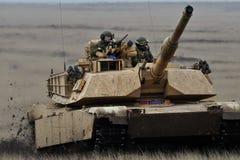 USA-behållare Abrams A1M1 Royaltyfria Bilder