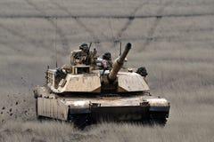 USA-behållare Abrams A1M1 Royaltyfri Fotografi