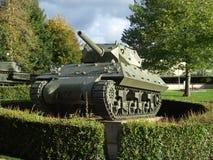 USA-behållarejagare M10, Bayeux, Normandie Arkivfoton
