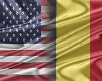 USA and Belgium. Stock Photo