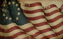 USA Betsy Ross Old Paper Royalty Free Stock Photos