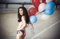 USA Bikini Royalty Free Stock Image
