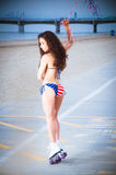 USA Bikini Royalty Free Stock Photos