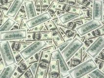 USA Bills. A lot of USA bills Stock Photography