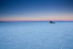 USA - Bonneville salt flats Stock Photos