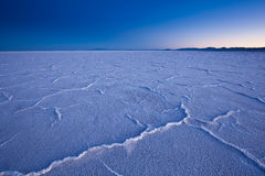 USA - Bonneville salt flats Stock Image