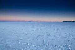 USA - Bonneville salt flats Royalty Free Stock Images