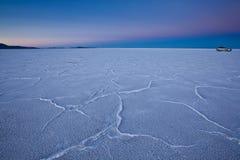 USA - Bonneville salt flats Royalty Free Stock Photo