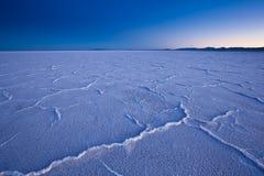 USA - Bonneville-Salzebenen Stockbild