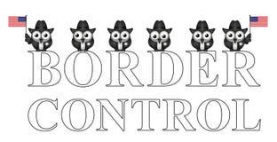 USA border control Stock Image