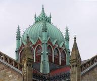 USA Boston, Massachusetts - härlig kopparkupol av den gamla södra kyrkan royaltyfri fotografi