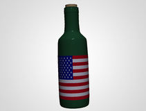 USA Bottle Royalty Free Stock Photos