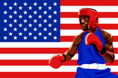USA boxing Royalty Free Stock Photography