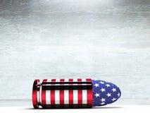 USA Bullet Royalty Free Stock Photos
