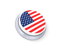 USA button Royalty Free Stock Photo