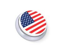 USA button Royalty Free Stock Photo