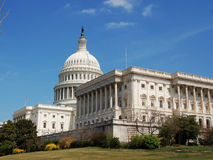 Capitol hill. The united states capitol hill Royalty Free Stock Photography