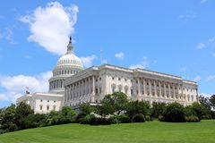 USA-capitol royaltyfri bild