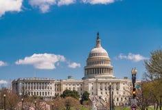 USA Capitol budynek podczas wiosny zdjęcie stock