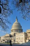 USA Capitol budynek w Jesień, Waszyngton DC, USA zdjęcie stock