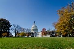 USA Capitol budynek w Jesień, Waszyngton DC, USA Obraz Stock