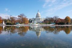 USA Capitol building Stock Photos