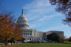 USA Capitol building Royalty Free Stock Photo