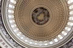 USA Capitol Interior Royalty Free Stock Photos
