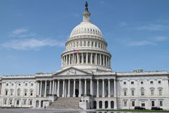 USA Capitol - Rządowy budynek Zdjęcie Royalty Free