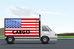 Usa cargo Stock Images