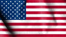 USA chorągwiana aksamitna tkanina, Stany Zjednoczone Ameryka flaga w zamszowy e ilustracji
