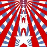 USA chorągwiany tło - ilustracja Zdjęcie Stock