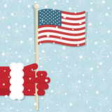 Usa christmas Stock Image