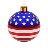 USA Christmas ball Stock Photo