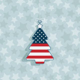 Usa christmas decoration Stock Images