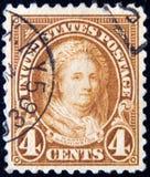 USA circa 4 cent 1923 Royaltyfria Foton