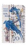 USA - CIRCA 50-tal: En stämpel skrivev ut i visningfåglarna, cir Arkivbilder